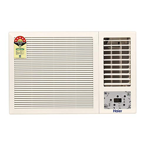 Haier 1.5 Ton 5 Star Window AC (Copper, High Density Filter, 2020...
