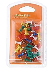 30-Piece Push Pin Set Multicolour