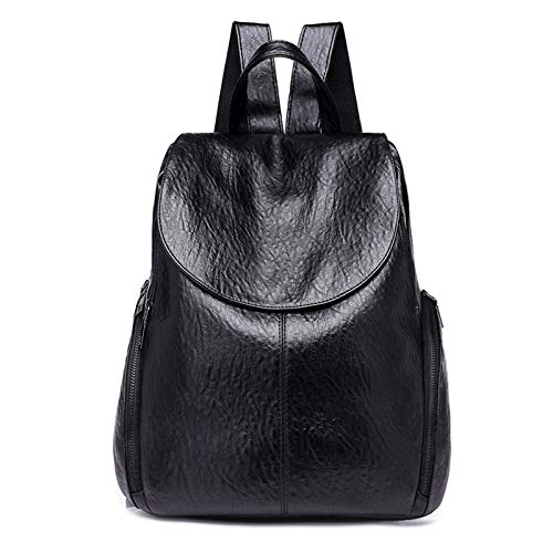 BAFEYU Backpack Women Ladies Rucksack Ladies Waterproof School Bag PU Leather anti theft Backpacks