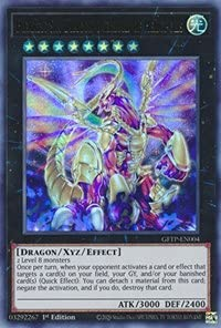 Hieratic Sky Dragon Overlord of Heliopolis - GFTP-EN004 - Ultra Rare - 1st Edition