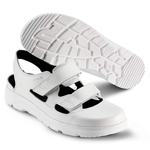 Sika Sika 173105 Optimax Sandale OB SRA - Weiß - Gr. 38