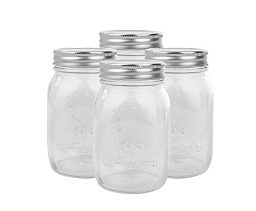 Golden Spoon Mason Jars, With Regular Lids, and...