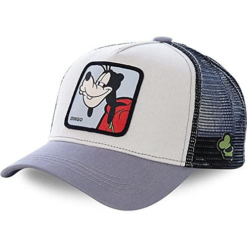 Gorra de bisbol de algodn para Hombres, Mujeres, Hip Hop, pap, Gorra de Malla, Gorra de Camionero, Gorra Snapback-Goofy