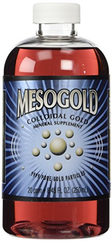 MesoGold ® 20 ppm Colloidal Gold 250 mL/8.45 Oz