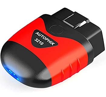 AUTOPHIX 3210 Bluetooth OBD2 Scanner Enhanced Universal Car Diagnostic Scanner for iPhone iPad & Android Fault Code Reader Plus Battery Tester Exclusive App for Quality-Newest Generation