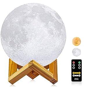 Moon Lamp, LOGROTATE 3D Printing Moon Light