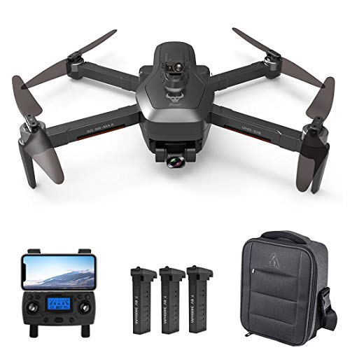 ZLL Beast3 SG906 MAX Dron con cámara 4K para adultos, cardón de 3 ejes, prevención de obstáculos, 5G WIFI GPS dron FPV sin escobillas RC Quadcopter, bolsa portátil