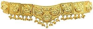 Temple Lakshmi Belt V Shape (ABS) Dance Belt for BHARATANATYAM/Marriage