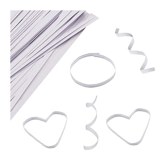"""Easytle 5"""" Paper White Twist Ties 100 Pcs 6 ★MULTIPLE USES 5"""" long, 0.16"""" wide, 1000 pieces. This is the preferred size for many uses including crafts, cords, cables, gardening plants and much more. Zip bags for bread, baked goods, storage, packing, garbage and trash. ★HIGH QUALITY these are ultra durable with an inner metal wire core. They hold up well for heavy duty use, home, business, industry and much more. These will last for years and can be reused many times. ★1000 PIECE SET to give you all the twist ties you need for every application. They store compactly and are there for you every time you need a top quality twist ties to organize and maintain cords, wires, possessions, deserts, snacks, and an endless array of uses."""