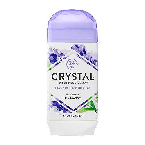 Crystal Body Deodorant Crystal Natural Deodorant Stick, Lavender & White Tea 2.5 Oz