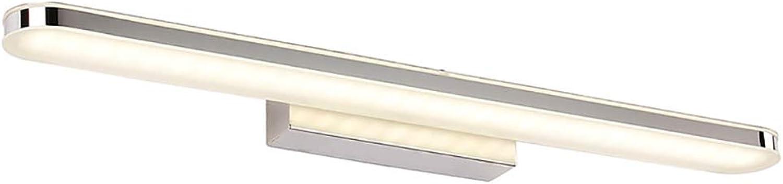 Led Spiegel Scheinwerfer Badezimmerspiegel Beleuchtung Wand WC Spiegel Licht Badewanne IP44 wasserdicht Spiegel Scheinwerfer Wandleuchte erhht Spiegel Schrank Licht-40cm-Weiß Light