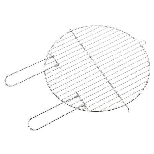 Barbecook Grillrost rund für Holzkohlegrill 43 cm verchromt leicht zu reinigen