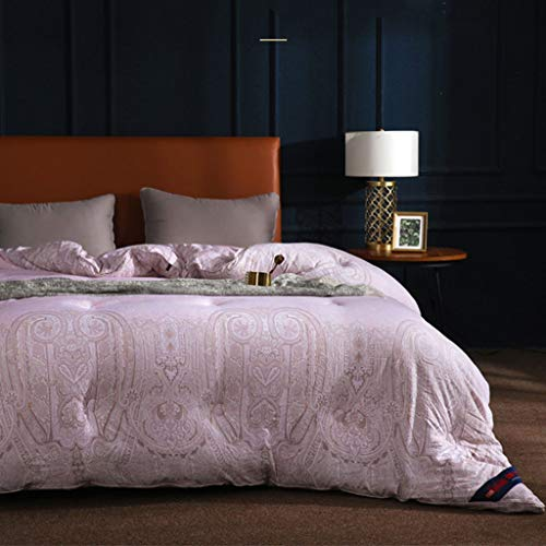 QUILT Ultra Soft hypoallergene Bettwäsche, weiche Gesteppte Decke mit Ecklappen, Winter Warm Fluffy hypoallergen, Hochtemperatur-reaktiver Druck und Färbeverfahren