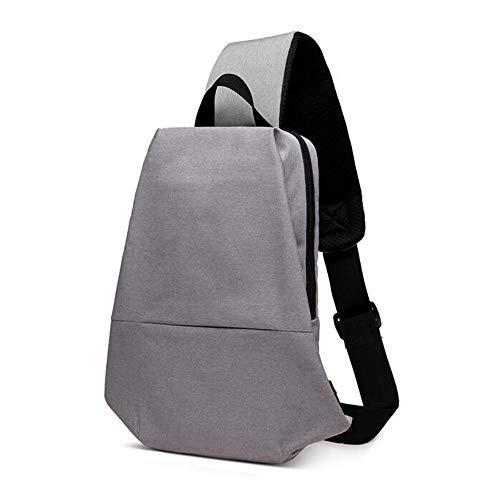 WJH Business Sling Bag, antidiefstal borstzak, grote capaciteit Messenger tas met meerdere compartimenten om Accommodate Tablet, Outdoor Vrije tijd Waterdichte Multi-functie Travel Schoudertas