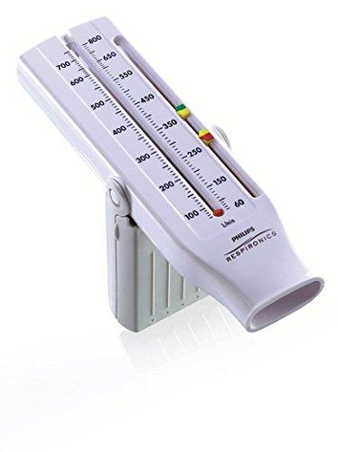 Philips Personal Best Peak Flowmeter, universell einsetzbar zur Überwachung von respiratorischen Erkrankungen, HH1309/00