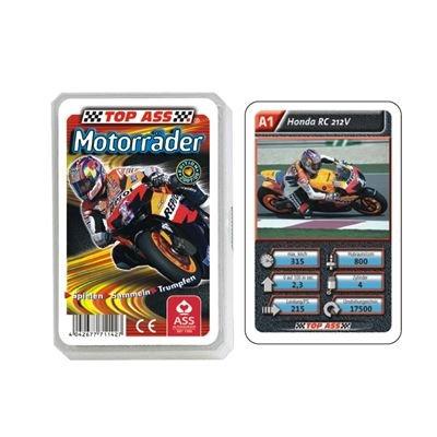 Ass Altenburger Spielkarten 71142 - Top Ass Motorräder