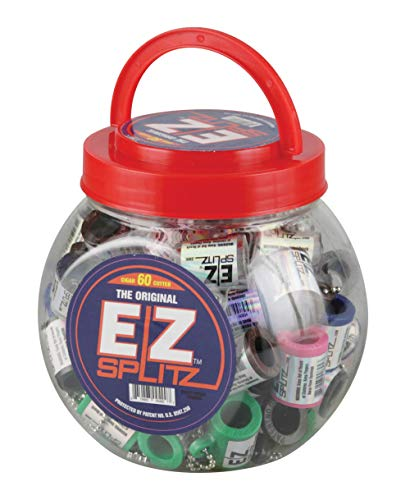 60pc Small EZ Splitz Cigar Splitter  - Assorted Colors