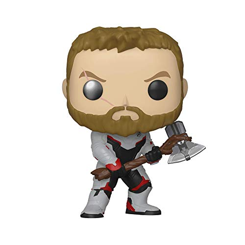 Funko - Pop! Bobble: Avengers Endgame - Thor Figura Coleccionable, Multicolor (36662)
