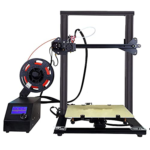 Stampante CTC 3D A10S Stampante desktop fai-da-te ad alta precisione e veloce di modelli 3D (200 mm/s) con filamento ABS/PLA da 1,75 mm, dimensioni di stampa: 300X300X 400mm
