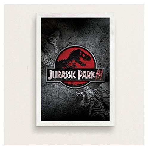 JCYMC Leinwand Bild Jurassic Park Filmreihe Kunst Malerei Vintage Leinwand Poster Wand Wohnkultur Yv30Tz 40X60Cm Rahmenlos