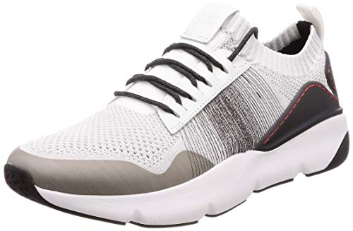 Cole Haan Herren Zerogrand All-day Trainer Sneaker, Weiß (Optic White/Nimbus Cloud/Pavement/Ivory Optic White/Ivory), 43 EU (10 M US)