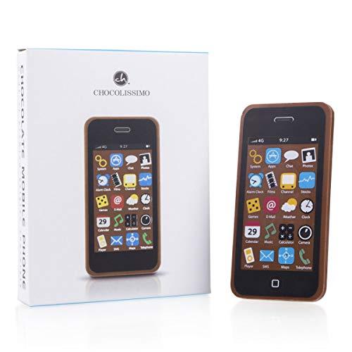 Smartphone chocolate - Chocolate GSM | Teléfono celular de chocolate | Teléfono celular de chocolate | Regalo | Idea de regalo | Gracioso | Cumpleaños | Niños | Adultos