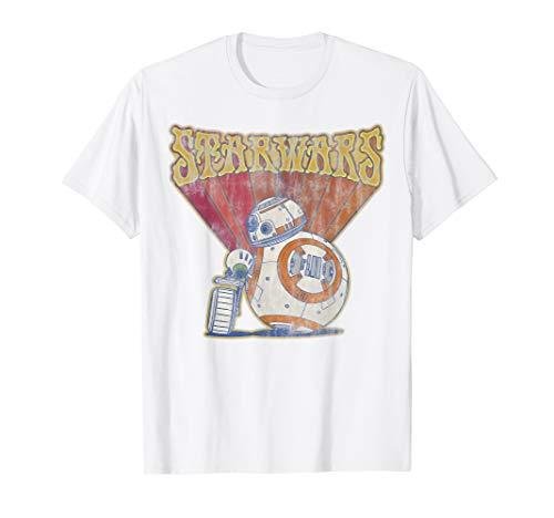 Star Wars: The Rise Of Skywalker BB-8 & D-O Retro T-Shirt