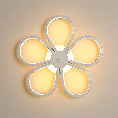Zambista LED De Tres Colores, Material De PC Ajustable Lámpara De Pared Decorativa Dormitorio Sala De Estar Lámpara Del Ojo Lámpara De Pared Del Pasillo Simple Lámpara De Pared Del Arte ( Color : A )