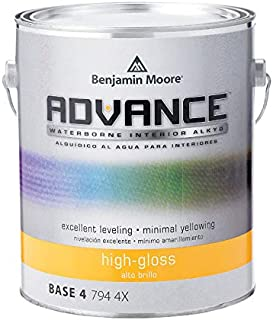 Benjamin Moore Advance High-Gloss Base 4 Alkyd Paint 1 gal. - Case of: 4
