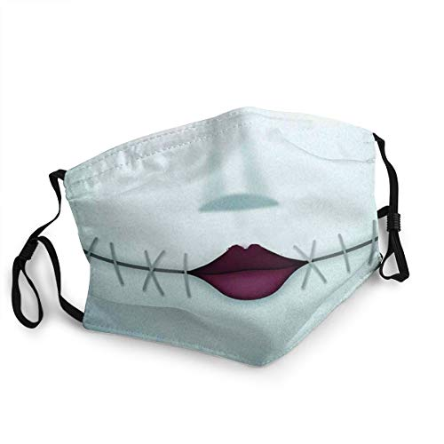 TZDQOAS Mask DustProof Stitched Smile Reusable Adjustable Sport Outdoor Mouth Cover Mask