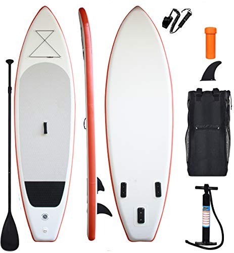 XYLOVE CO All Skill Levels Everything Included with Stand Up Paddle Board (White, 11)