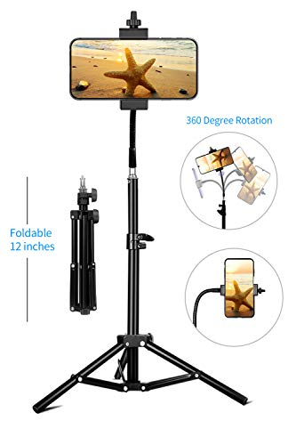 Phone Tripod, Pixel Flexible Cell Phone Tripod for Video Recording, Vlogging/Streaming/Photography, Smartphone Tripod Stand, Sturdy and Lightweight Stand, Compatible with...