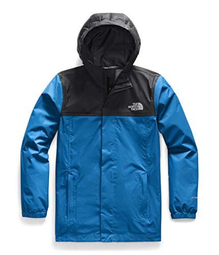 The North Face Resolve - Chaqueta impermeable para niño, color azul