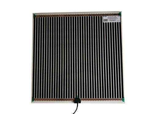 Fenix 6651870 Spiegelheizung/Heizfolie MHF-50, verhindert das Beschlagen von Spiegeln, selbstklebende Beschichtung für eine schnelle und einfache Montage, niedrige Temperaturen, 524 x 519 mm