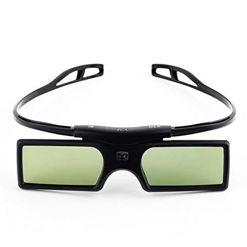 Lorenlli G15-DLP 3D - Gafas 3D para proyector de televisión, para Optoma LG Acer DLP-LINK DLP Link Proyectores Gafas 3D