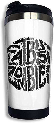Qurbet Tazza da Viaggio da caffè, Flatbush Zombies Coffee Cups Stainless Steel Bottiglia d'Acqua Cup Travel Mug Coffee Tumbler with Spill Proof Lid