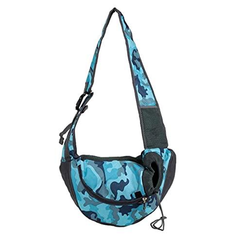 VusiElag Portátil portátil Cat Puppy Carry Backpack Outdoor Travel Carrier Transpirable Mesh Bag Bag Sling Bolsa