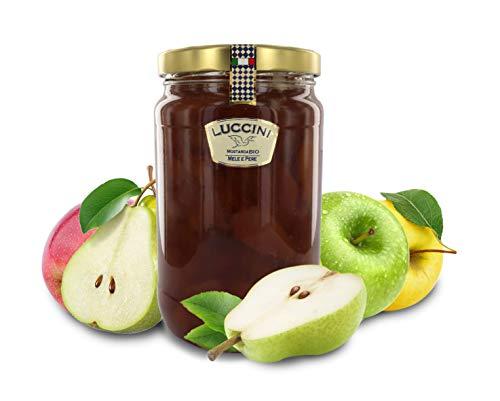 Luccini Mostarda Kunsthandwerk aus Apfel und Birnen, 2 kg, Mostarde – Früchte höchster Qualität