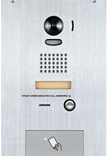 Aiphone IS-DVF-HID Flush Video Door STN with HID PROX Card Reader