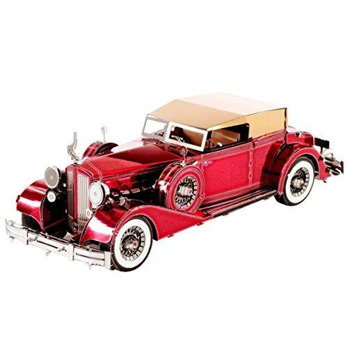 Metal Earth Fascinations, 1934 Packard Twelve Convertible Rompecabezas de Metal 3D, Corte láser en Miniatura