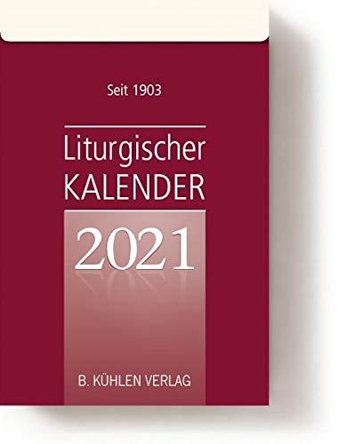Liturgischer Kalender 2021: Tagesabreißkalender Block