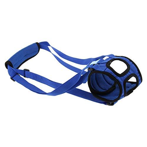 KESOTO Hunde Tragehilfe Gehhilfe Rehahilfe für Probleme an der Wirbelsäule und den Hinterbeinen Ihrer Hunde - S