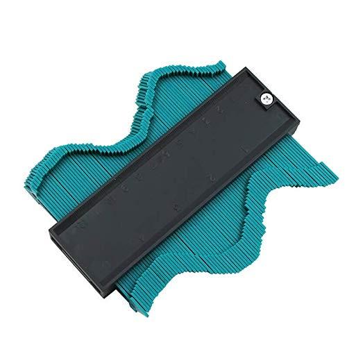 12,7 cm Profil-Konturlehre – Messlineal Kontur-Duplikator für präzise Messung Fliesen Laminat Holz Markierwerkzeug Kopierlehre Form Duplikator Holzbearbeitung Form Nachverfolgungsschablone