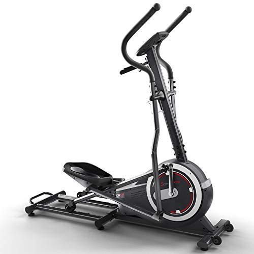 Sportstech CX640 Bicicleta elíptica - Marca de Calidad Alemana - Eventos en Directo & App Multijugador, 24 KG de Masa de Volante, 26 programas de Entrenamiento con HRC, Elíptica + Soporte de Tablet