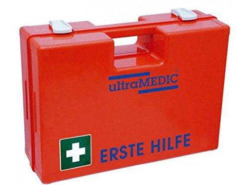 """Erste-Hilfe-Koffer ultraBOX""""BASIC"""", mit Füllung DIN 13157, orange"""
