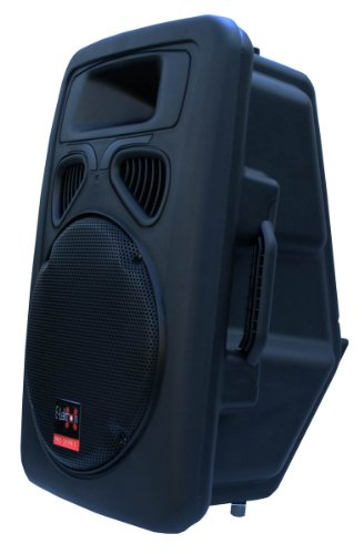 E-Lektron JAD30-B Sound-ANLAGE USB/SD & Bluetooth Aktiv-Lautsprecher Soundsystem Digitale Enstufe 400W RMS