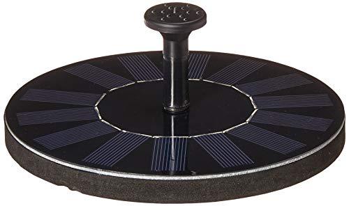 TOMONOLO Fountain Bird Bath, 8 Nozzles Floating Solar Water Pump, Outdoor, Garden (2018 Upgraded)