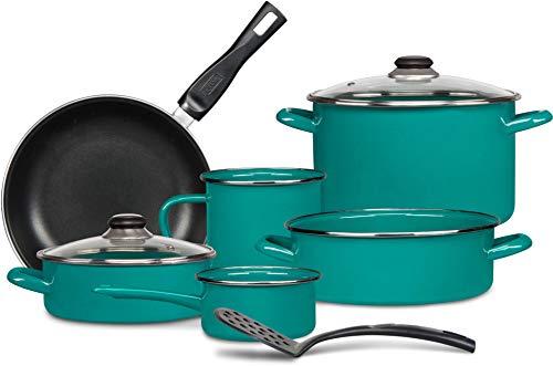 Batería de Cocina Terranova 9 piezas Cins