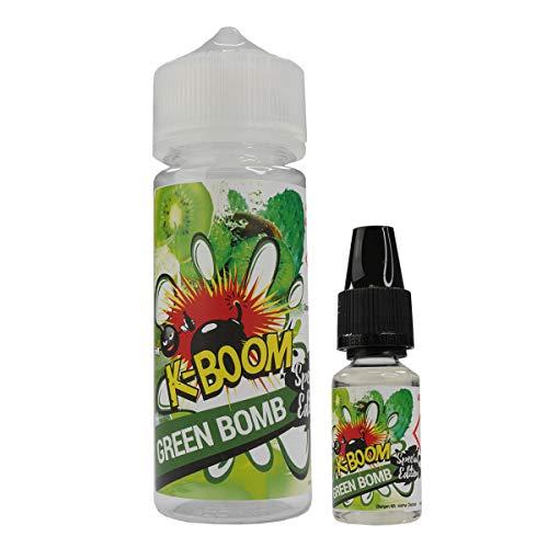K-Boom Aromakonzentrat Special Edition - Green Bomb, zum Mischen mit Basisliquid für e-Liquid, 0.0 mg Nikotin, 10 ml