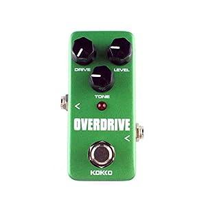 BianchiPamela KOKKO FOD3 Mini Overdrive Electric Guitar Effect Pedal Tube Overload Stompbox